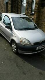 For sale Toyota yaris 1L vvt-i very good condition and perfect working!