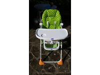 Chicco Pocket Lunch Highchair - like new!
