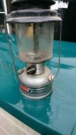 Coleman duel fuel lamp