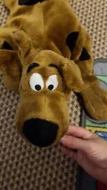 Scooby doo large stuffed toy plus small stuffed toy