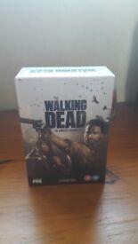 The Walking Dead Seasons 1-4 box set (never opened)