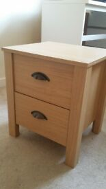 Two bedside tables. Delivery.