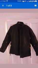 Woman's motorcycle jacket brand new