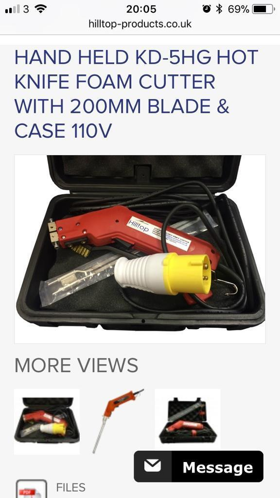 110 volt hot knife