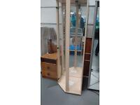 glass corner cabinet