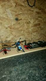 Toy helecopters for sale or repair
