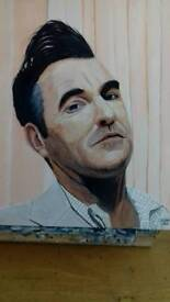 Morrissey painting.