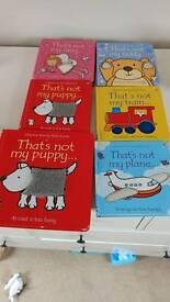 Thats not my Usborne books