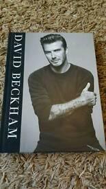 David Beckham Book - Brand new
