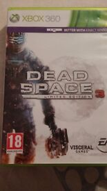 Halo 4, Assassin's creed 3, Dead space 3 limited edition. Very good conditions