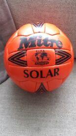 Vintage Retro Mitre Orange football size 5