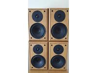 4 x ELTAX SYMPHONY 4.2 Speakers