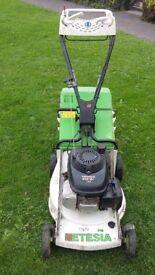 Etesia phtb honda powered self propelled petrol lawn mower