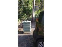 "Beehive ""style "" storage/compost bins"