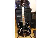 Rockabilly Jazz Semi acoustic electric guitar deep bodied Dean Palomino. £325 or make an offer!