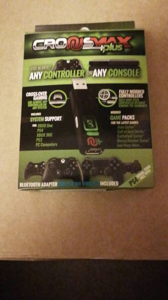 CronusMax Plus Video Game Xbox/PS4/360/PS3 PC Controller Adapter | in  Newhaven, Edinburgh | Gumtree