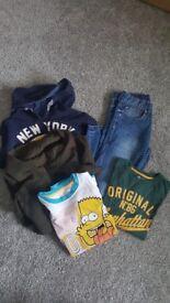 Boy's clothes age 8-10 140cm