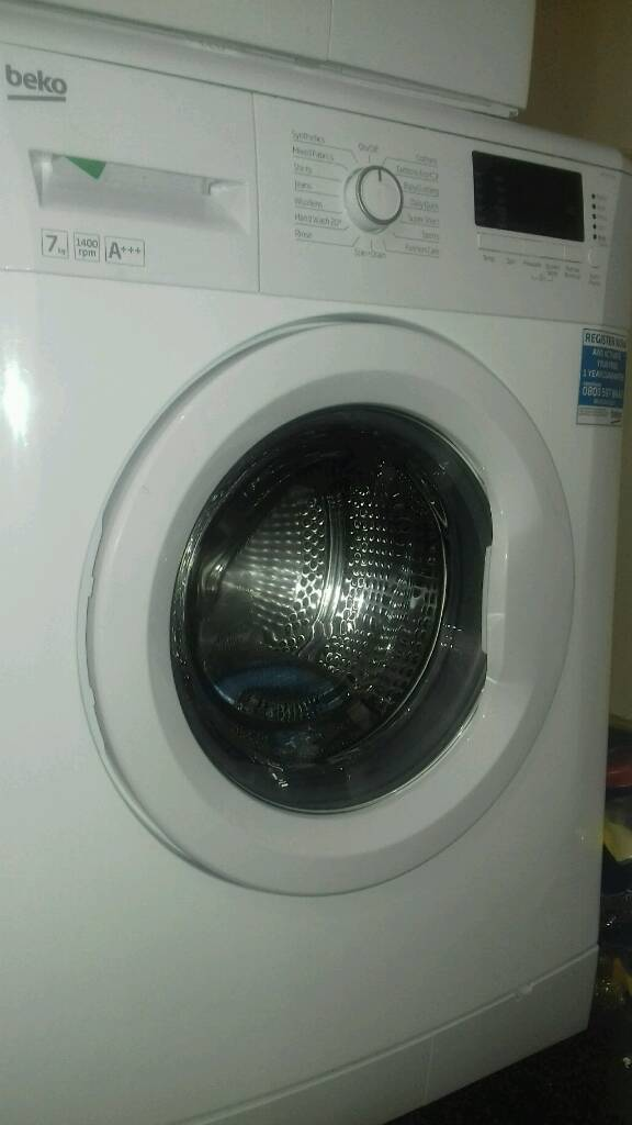 Wash machines beko 7kg new never used offer sale £150