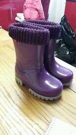 Toughees wellie boots