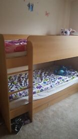Wooden Bunk Bed, very good condition