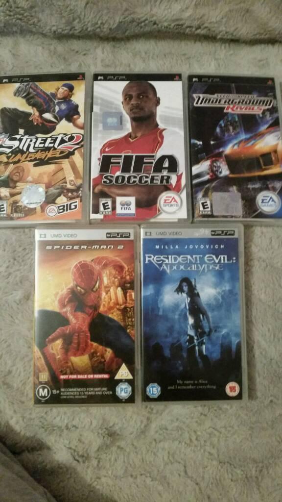 PSP Games/Films