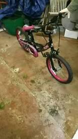 5-7 year old girls bike