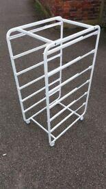IKEA ALGOT Wardrobe Organiser/system Frame for 6 Drawers white