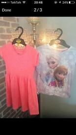 Bundle of girls kids clothes age 4