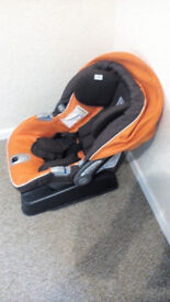 baby car seat with ISOFix system