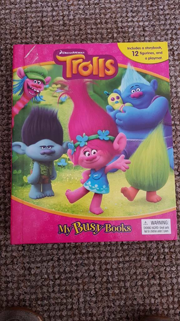 Trolls Busy Book