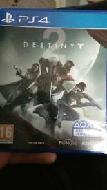Destiny 2 (PS4). SALE OR SWAP FOR EITHER HORIZON ZERO DAWN OR UNCHARTED LOST LEGACY.