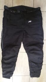 J&s motorbike trousers size xxl in used condition 35£Can deliver or post!