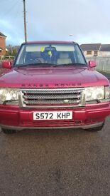 Range rover 2.5 dse automatic