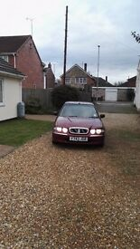 Rover 45 - 2001 - MOT 17/04/2017