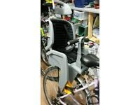 Child bike seat panier