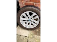 BMW 16 inc rim with tyre one only