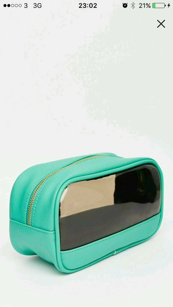 Carvela wash bag