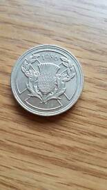 1986 commonwealth £2 coin