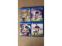 PS4 Game Fifa 17,16,15,14 Mint Condition Sell Or Swap for Crash Bandicoot
