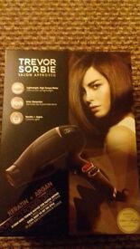 Brand new boxed TREVOR SORBIE compact 2100w power hairdryer rrp £99 perfect xmas gift £40