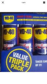 WD-40 440ml LARGE CANS x 3(three)