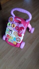 V tech first sreps baby walker