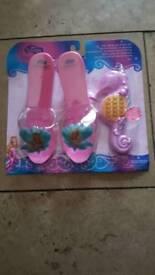 barbie set unused