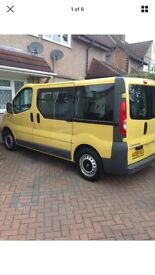 Vauxhall Vivaro 9 Seater 2900 CDTI SWB (Low Milage) Bargain NO VAT (Nr Heathrow)