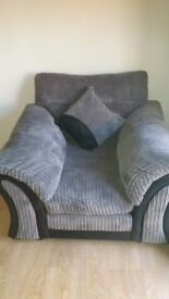 Greay dfs arm chair