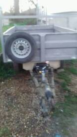 Indespention tipping trailer