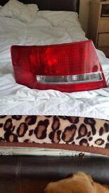Audi A6 4F2 C6 2004-2011 Saloon rear tail signal indicator Left lights lamp LH