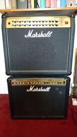 Marshall AVT 150 Valvestate 2000 Amplifier (150 W); Plus Cab (80W)
