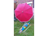 Lovely Big Gargen/Outdoor Parasol umbrella