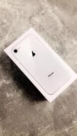 Brand New Sealed Iphone 8 Silver 64GB O2